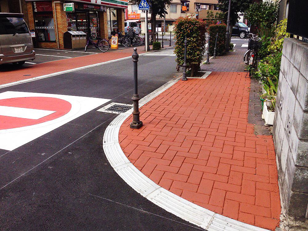 さいたま市歩道ストリートプリント施工実績