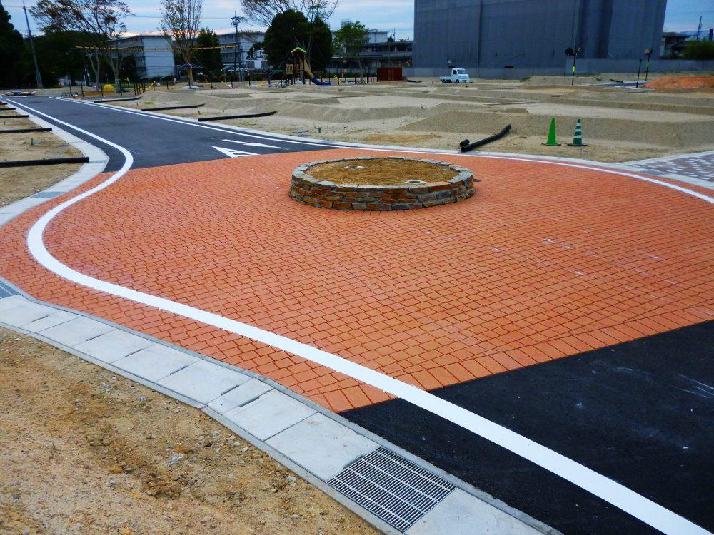 宅地内道路(安全対策)ストリートプリント施工実績