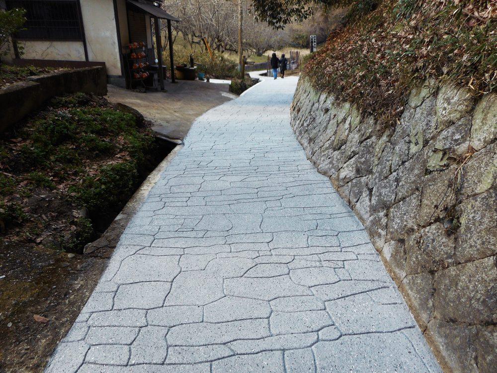 東海自然歩道ストリートプリント施工実績